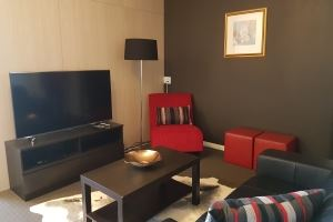 The Lounge Room of Hamilton 1 Bedroom Studio.