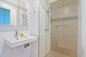The Main Bathroom of Horizon 2 Bedroom Apartment at Newcastle Beach