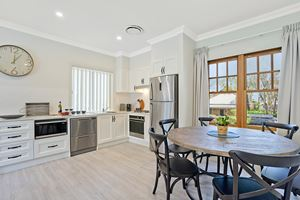The Kitchen and Dining Area of Adams Street Maitland.